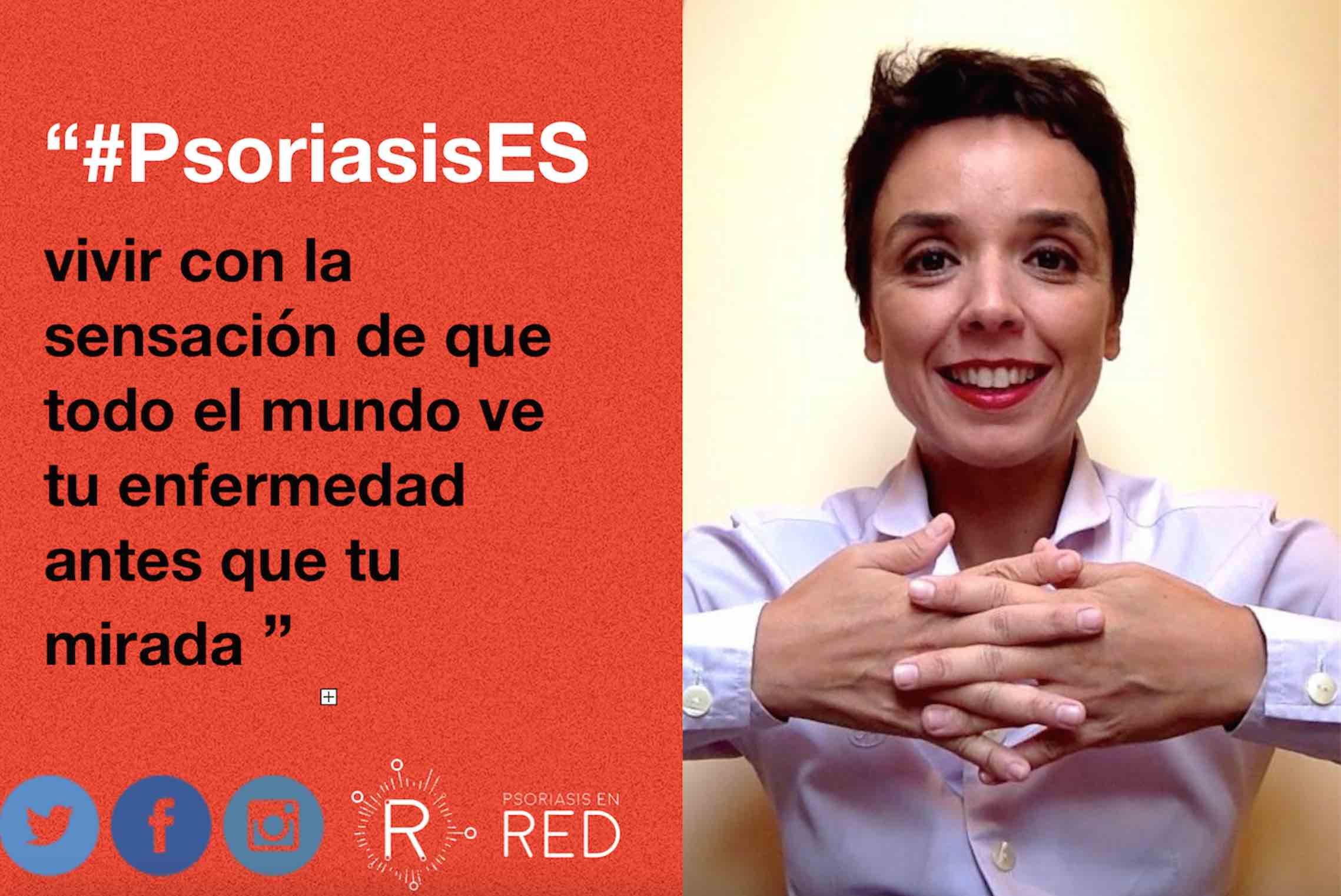 """""""No hay nada más satisfactorio que poder ayudar a otra persona como tú y acortar el camino de su sufrimiento hasta aceptar la enfermedad"""": Celia Marín en #FFPaciente."""