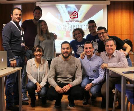 Presentación Proyecto #FFPACIENTE. Ante todo, personas en la Universidad de Alicante.