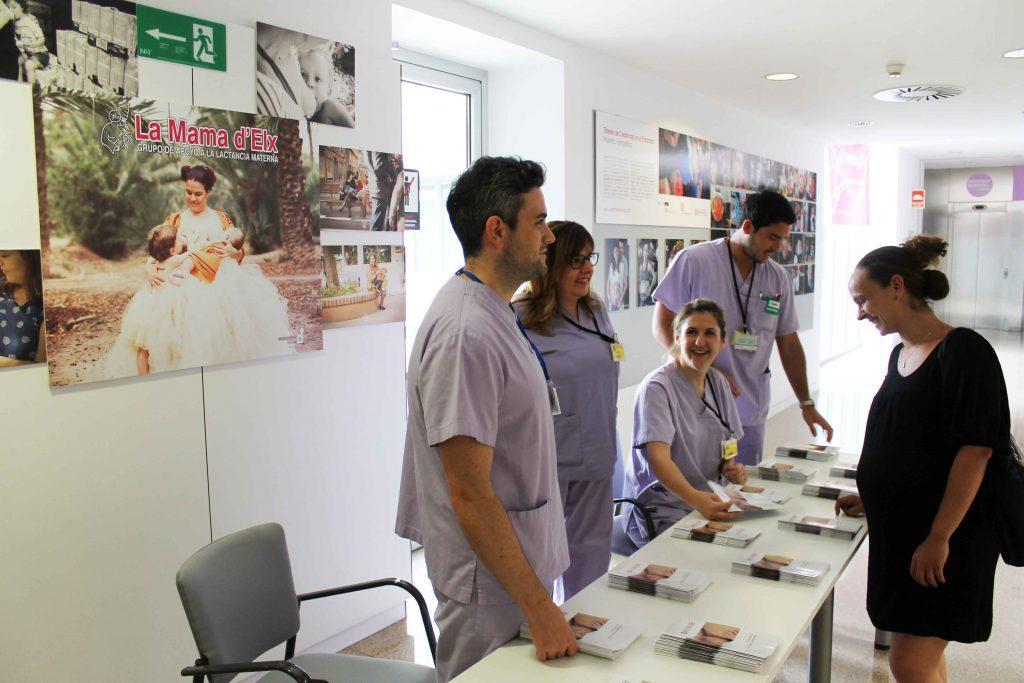 Exposición Lactancia materna en el departamento de Vinalopó Salud