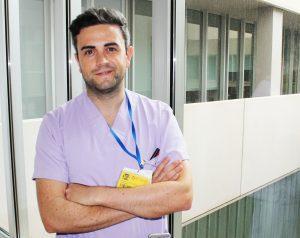 Sergio Jose Amores Camacho Supervisor AME de Paritorio y atención primaria del departamento de Torrevieja y Vinalopó