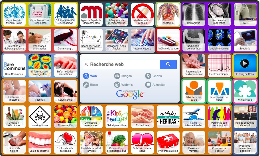 Prescripción de páginas web de salud fiables