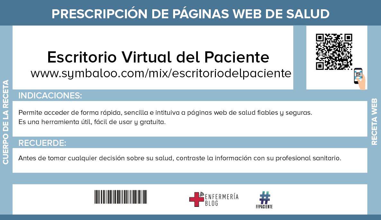 #ffpaciente: Prescripción de páginas web de Salud