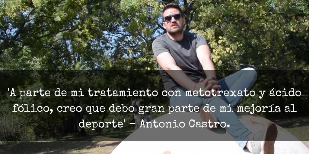 'En La Piel De: El Motivo de Anto'. ¿Quién es Antonio Castro?