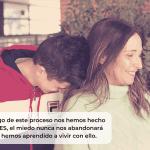 «No tengáis miedo al #RetinoBlastoma, sed fuertes.» – Cristina y Juanma en FFPaciente.