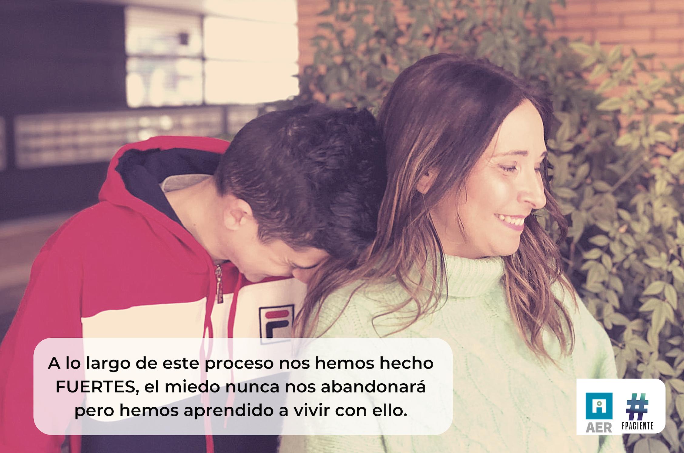 """""""No tengáis miedo al #RetinoBlastoma, sed fuertes."""" – Cristina y Juanma en FFPaciente."""
