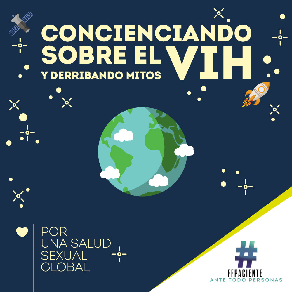 Concienciando sobre el VIH y derribando mitos: por una salud sexual global.