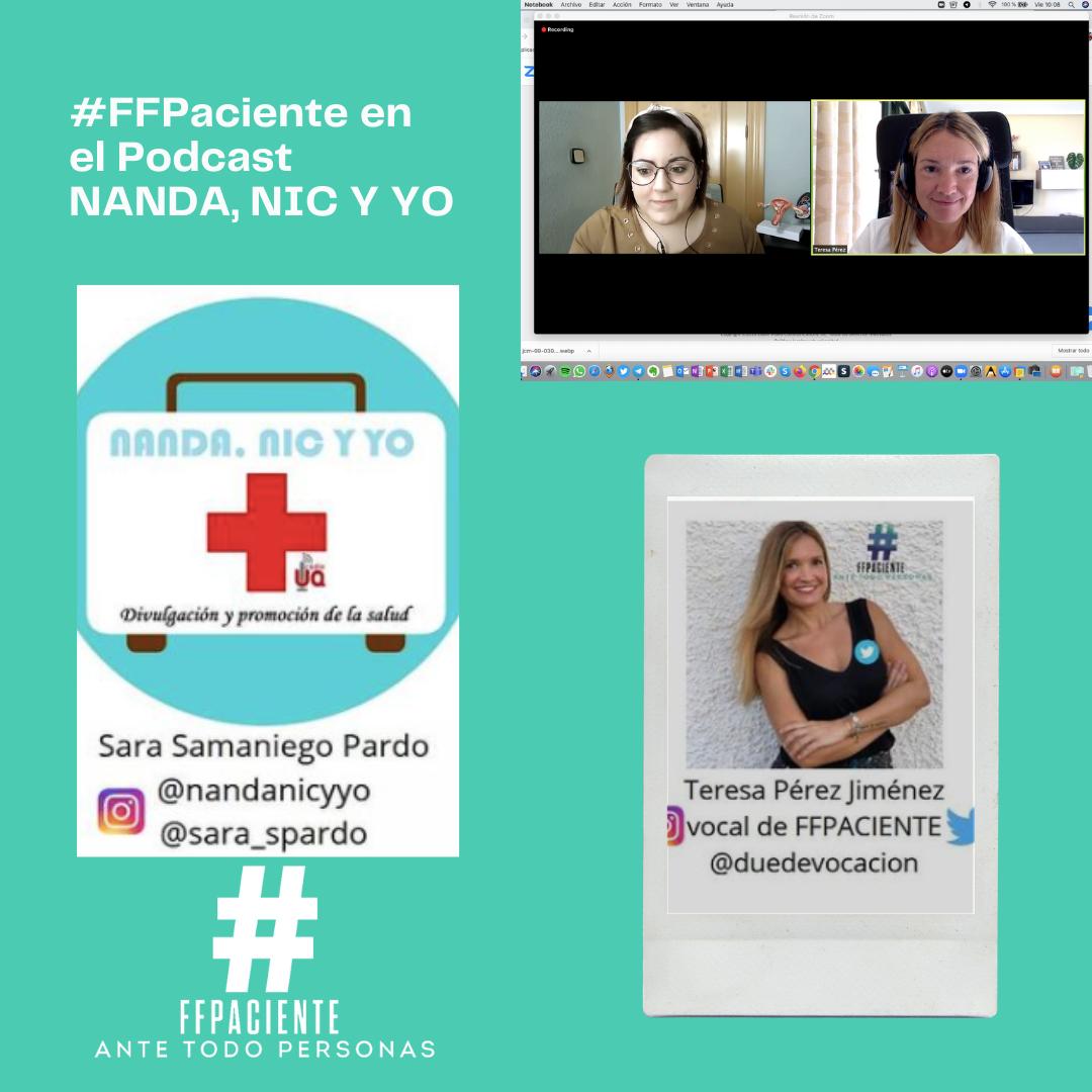 FFPaciente entrevista NANDA, NOC NIC