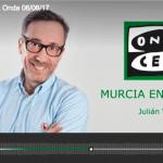 #FFPaciente en el programa «Murcia en la Onda» presentado por Julián Vigara.
