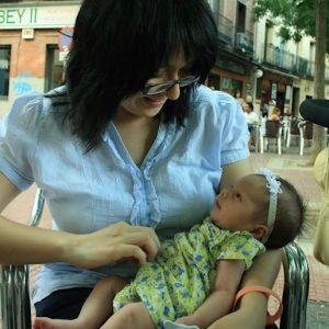 Marisol Ramirez, persona con incontinencia fecal, en #FFPaciente.